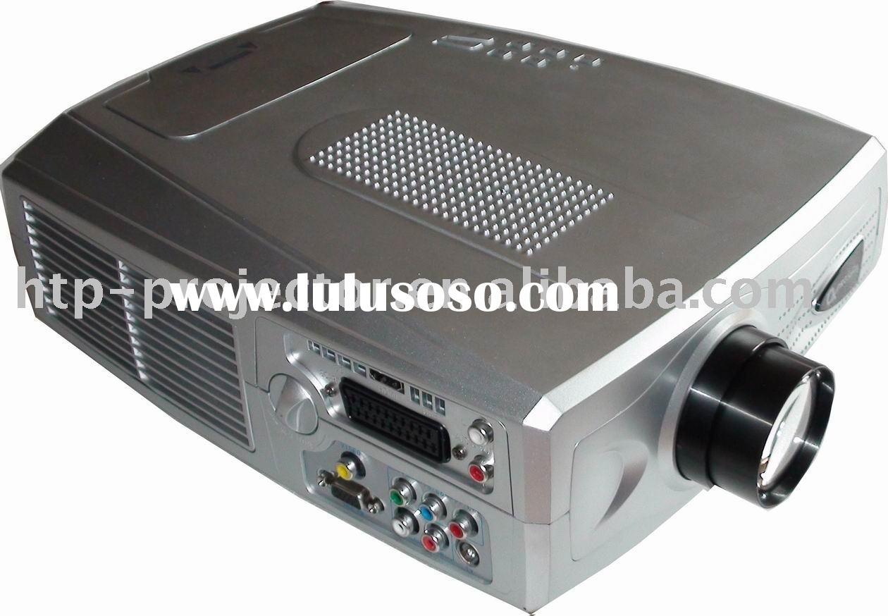 Home entertainment system projector