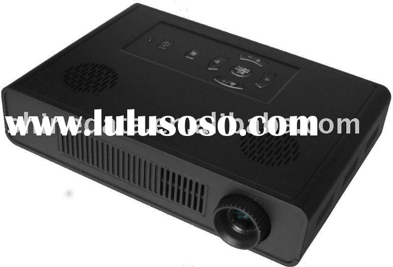 Home theater micro projector 720p
