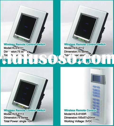 KOMSA 75 series intelligent wireless switches and remote controller --energy saving light controllin