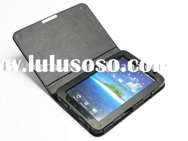 Leather Case Cover For Samsung Galaxy Tab P1000, fashion style, free shipping, promotion at low pric