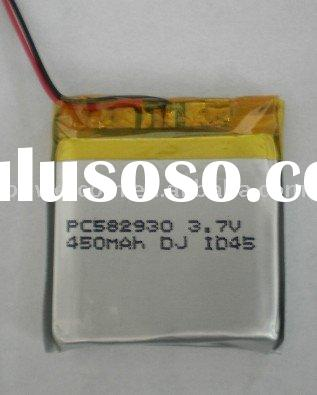 Li-Polymer rechargebale battery pack for (PC.582930)