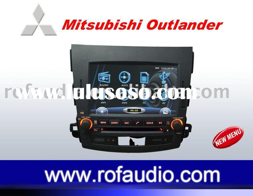 Mitsubishi Outlander car dvd player newest software