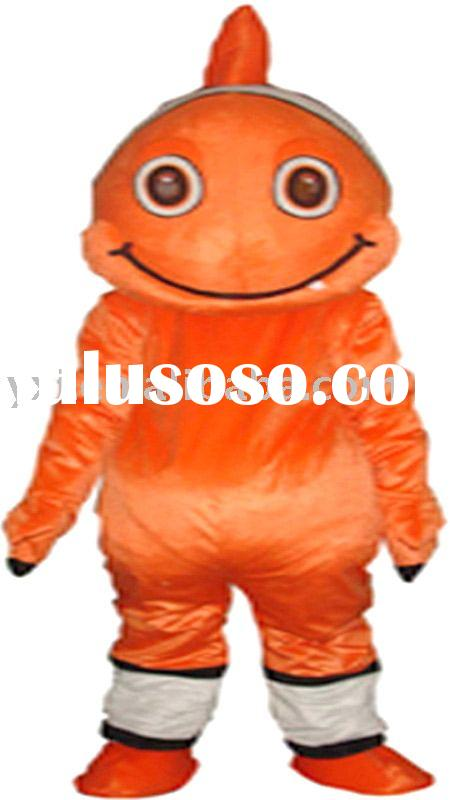Monster fish mascot costume