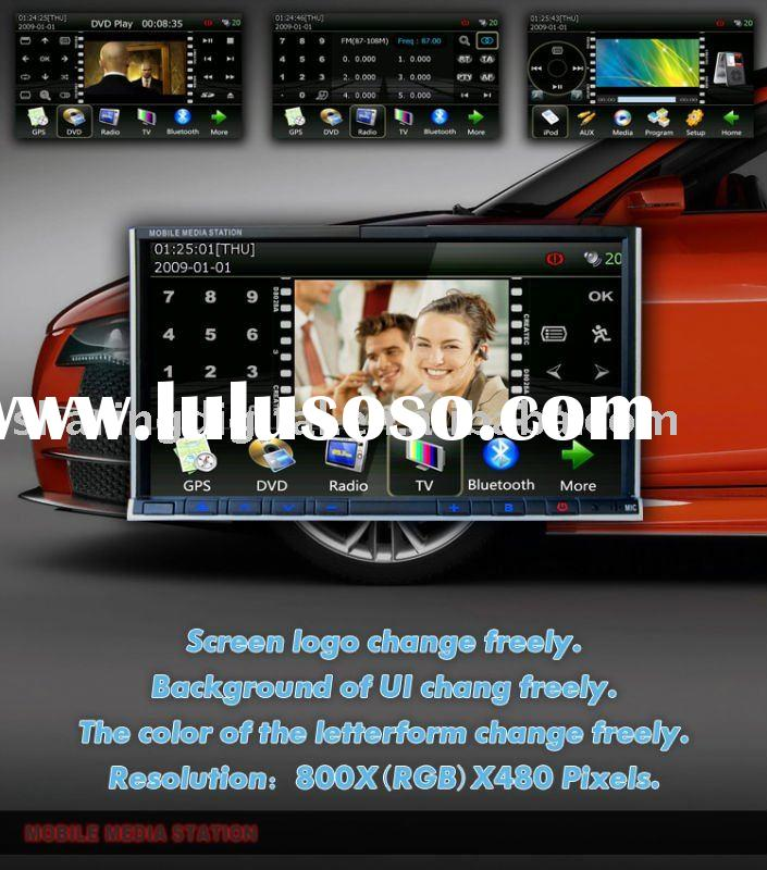 Multimedia Car DVD Player with car pc/3G wireless internet