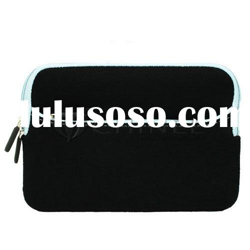 Neoprene sleeve with front pocket for samsung p1000 galaxy tab