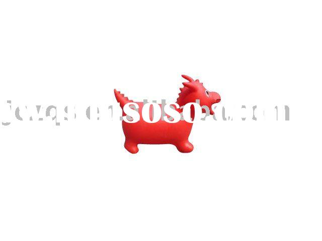 PVC jumping animals ball