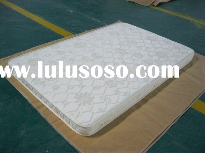 Polyester quilted mattress pad