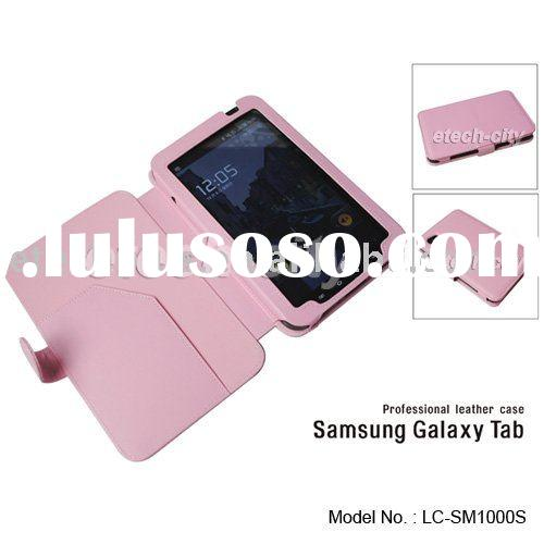 Professional Genuine Leather Case for Samsung Galaxy Tab P1000 (Side Type)