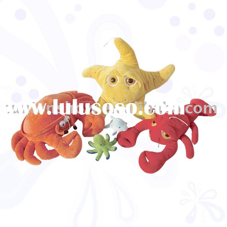 Stuffed toy-sea animal(star toy,crab toy,manufacturer)