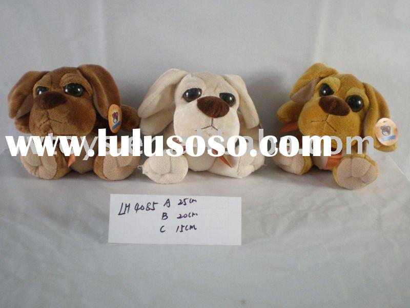 Very Cute little big headed puppy plush dog animal toy