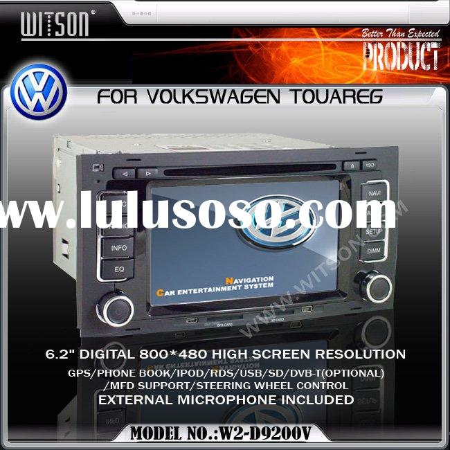 WITSON Special Car DVD Player With GPS For Volkswagen TOUAREG Car DVD Systems