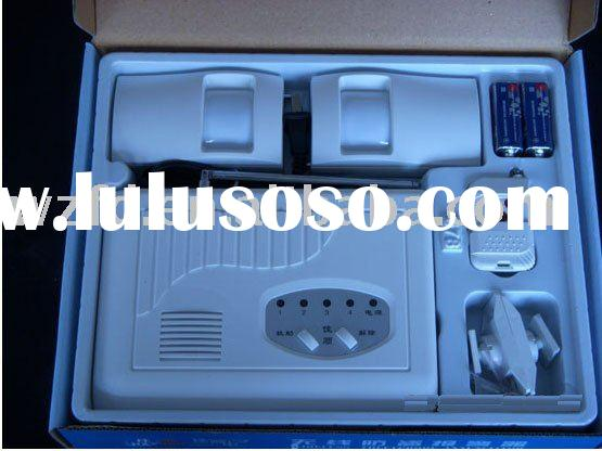 Wireless Home Alarm System (JS-678)/digital LCD disply+free shipping+standard package