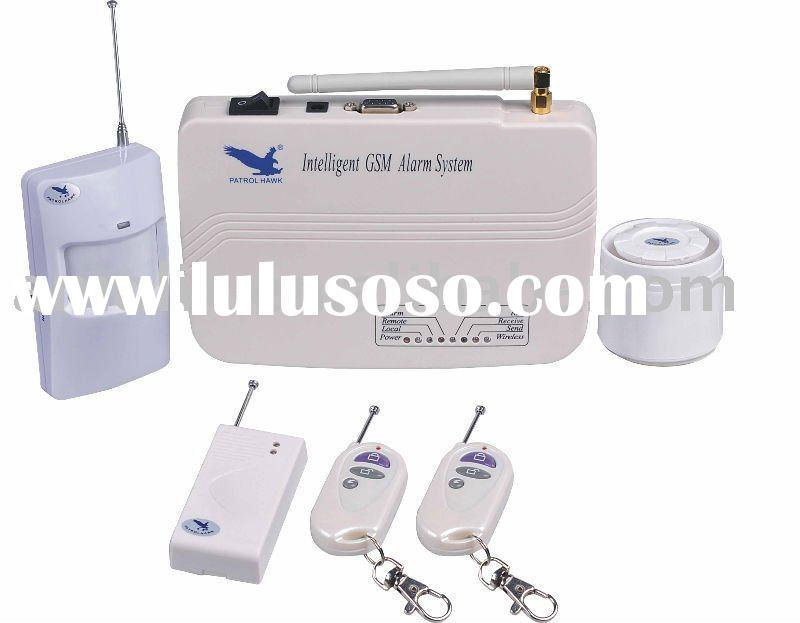 Wireless Home GSM Alarm System
