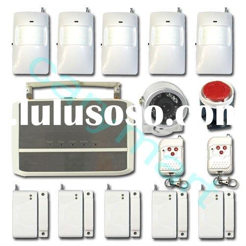 Wireless SMS MMS GSM Home Alarm System With PIR Camera