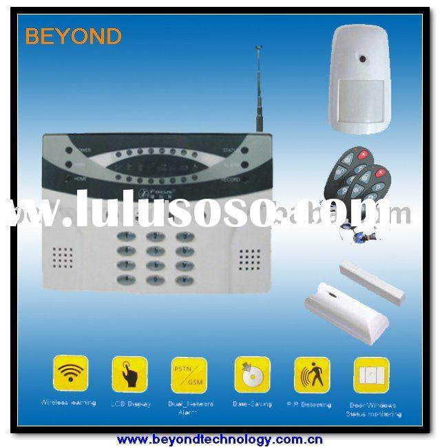 Wireless home intruder alarm system with good and cheap
