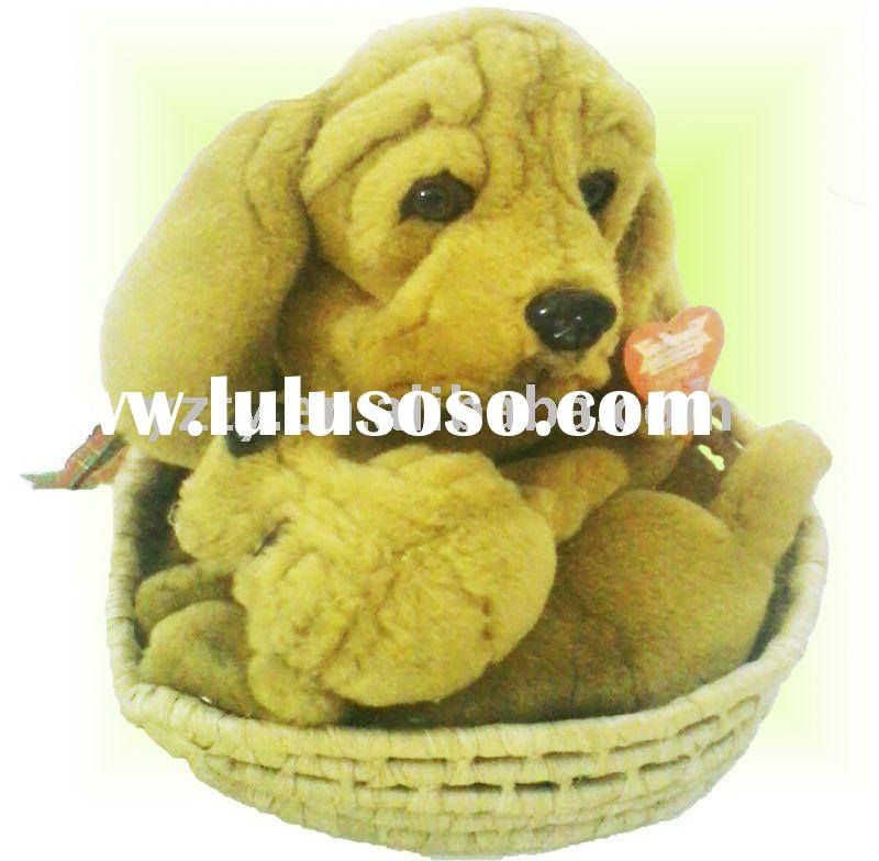 Yangzhou plush factory supply stuffed animals dog & dog stuffed toys