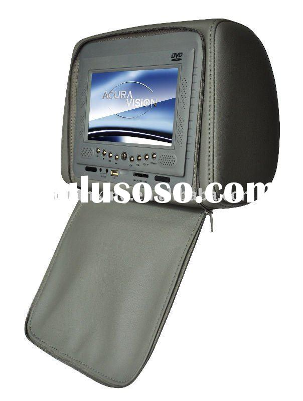 (Sony machnism ) :7Inch Headrest Entertainment System
