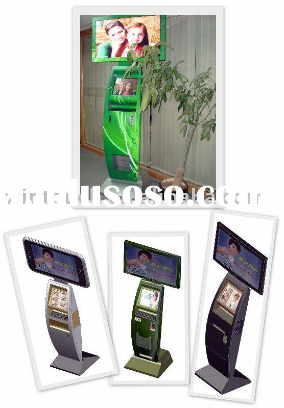 coin operated internet and advertising kiosk