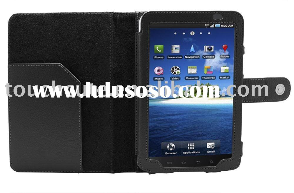 for Samsung Galaxy Tab P1000 Leather Pouch Sleeve