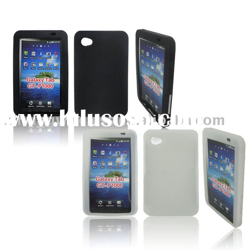 for Samsung Galaxy Tab P1000 Silicon Back Cover Case