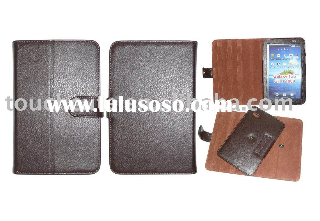 for Samsung Galaxy Tab/P1000 rotation  PU leather Book case##TC-ISS-TL021
