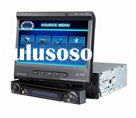 gps 1 din car dvd player with windows ce