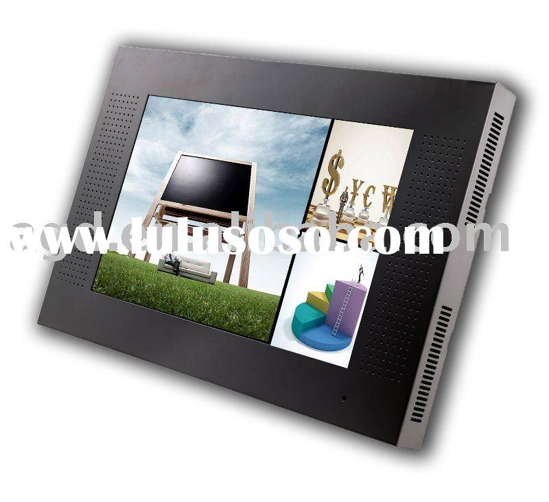 network lcd advertising player