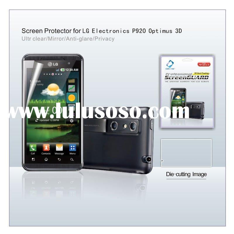 new product ultra-clear screen protector for LG Electronics P920 Optimus 3D