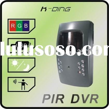 passive infrared detector + alarm system + portable dvr  +home safety+mobile security products+ mini