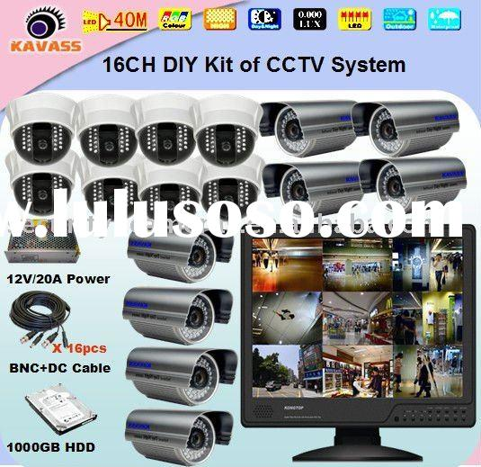 16CH best home security system CLG-1816L