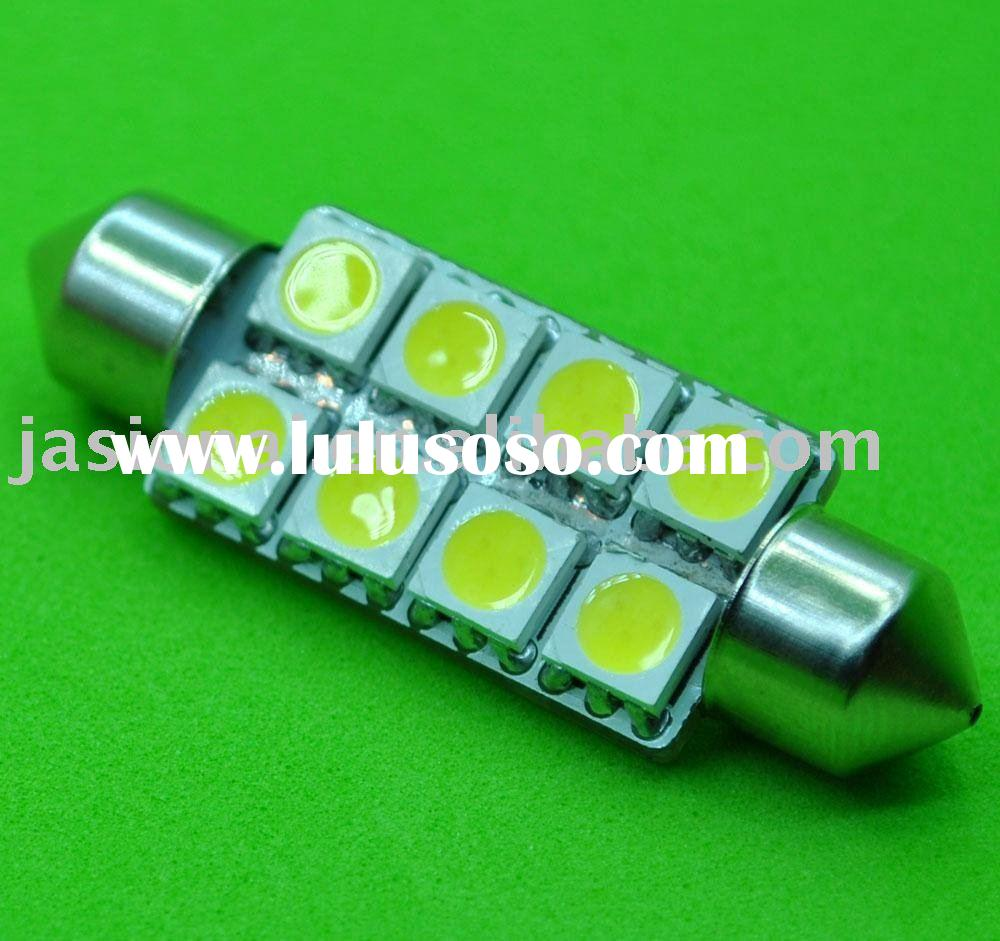2011 newest hot selling led auto lamp reading light 8SMD5050 led car bulb 12VDC