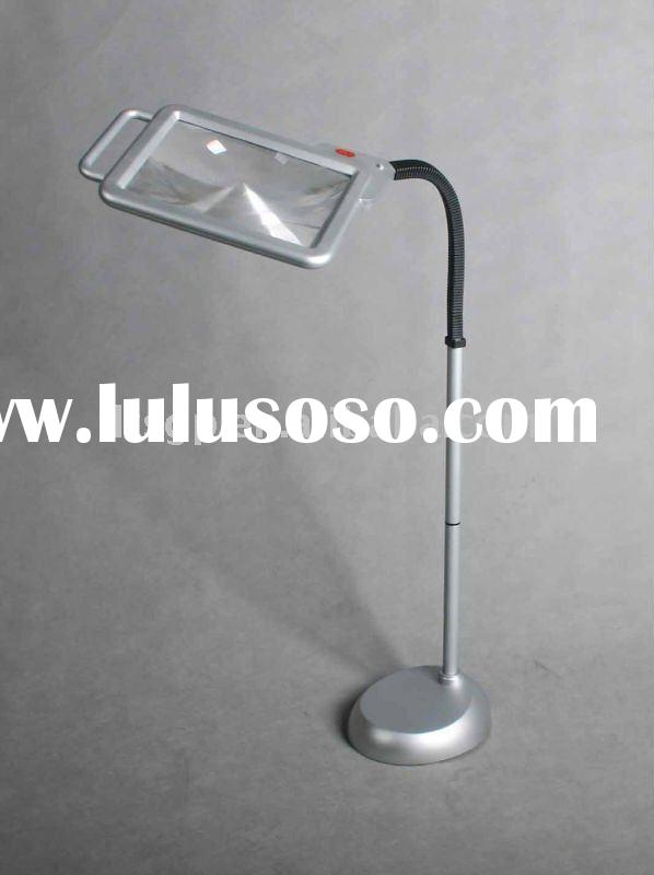 Largest Magnifier Led Swing Arm Clamp Magnifier Lamp For