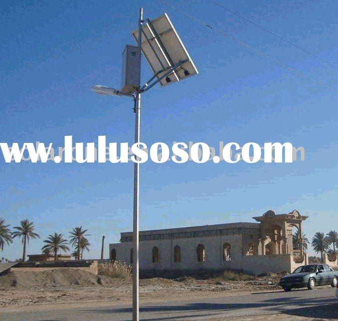 40w solar street light system work in Middle East