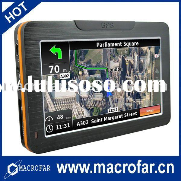 4.3 inch hot sale in car gps system with free map(MF-br-4301)