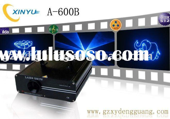 A-600B 100mw473nm blue animation/graphic laser show