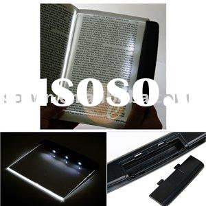 Bright LED Book Adjust Light Panel Night Reading Lamp swt-0113