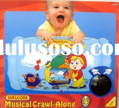 Bruin music roller /soft toys/inflatable toys/baby toys