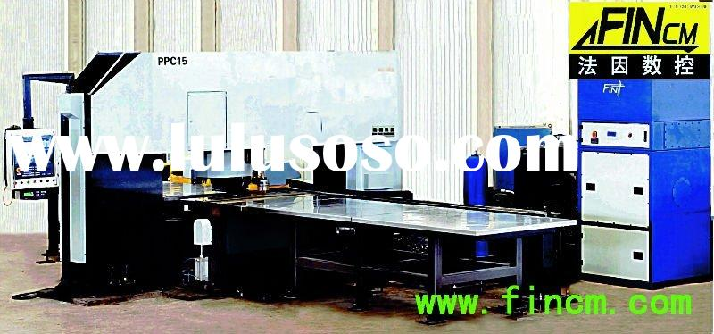 CNC punching, cutting and marking machine for plate