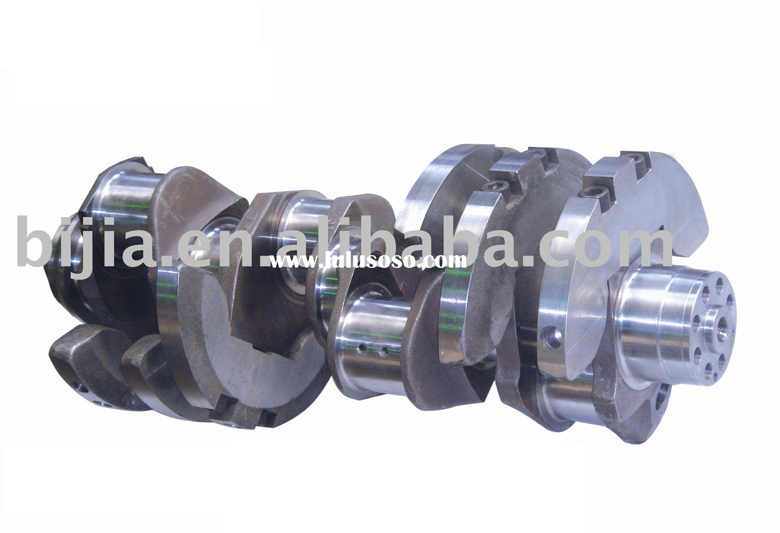 Car Crankshaft OM442 For Mercedes Benz, Forged Steel