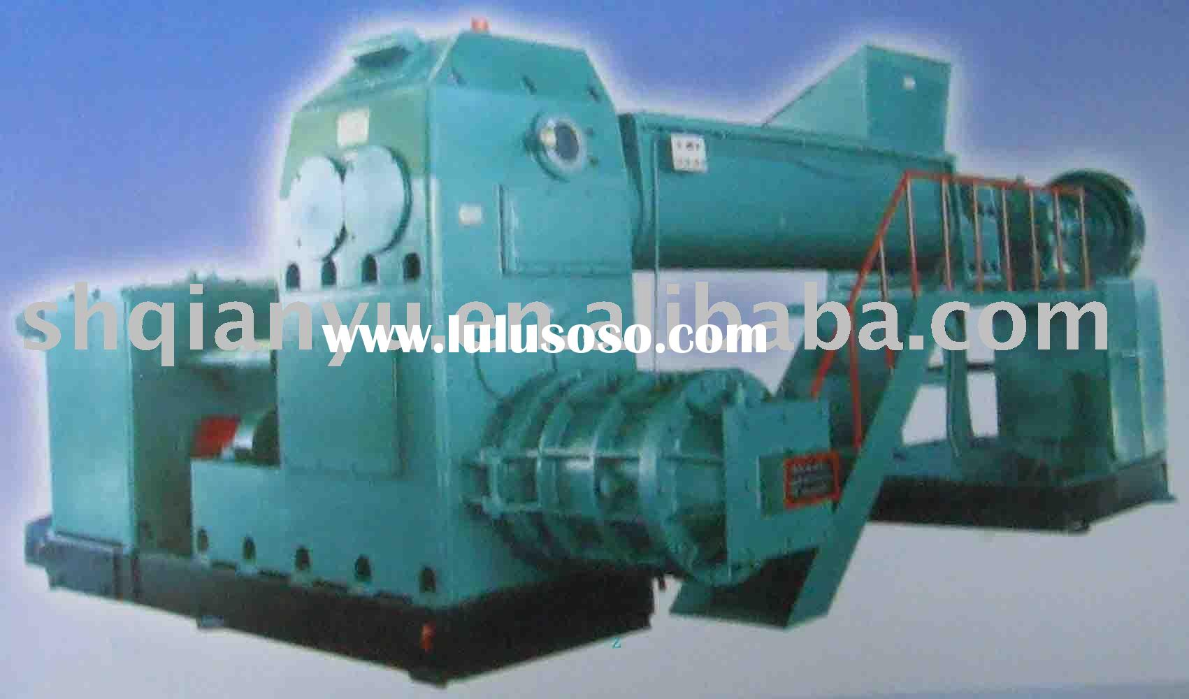 Cement brick making machine
