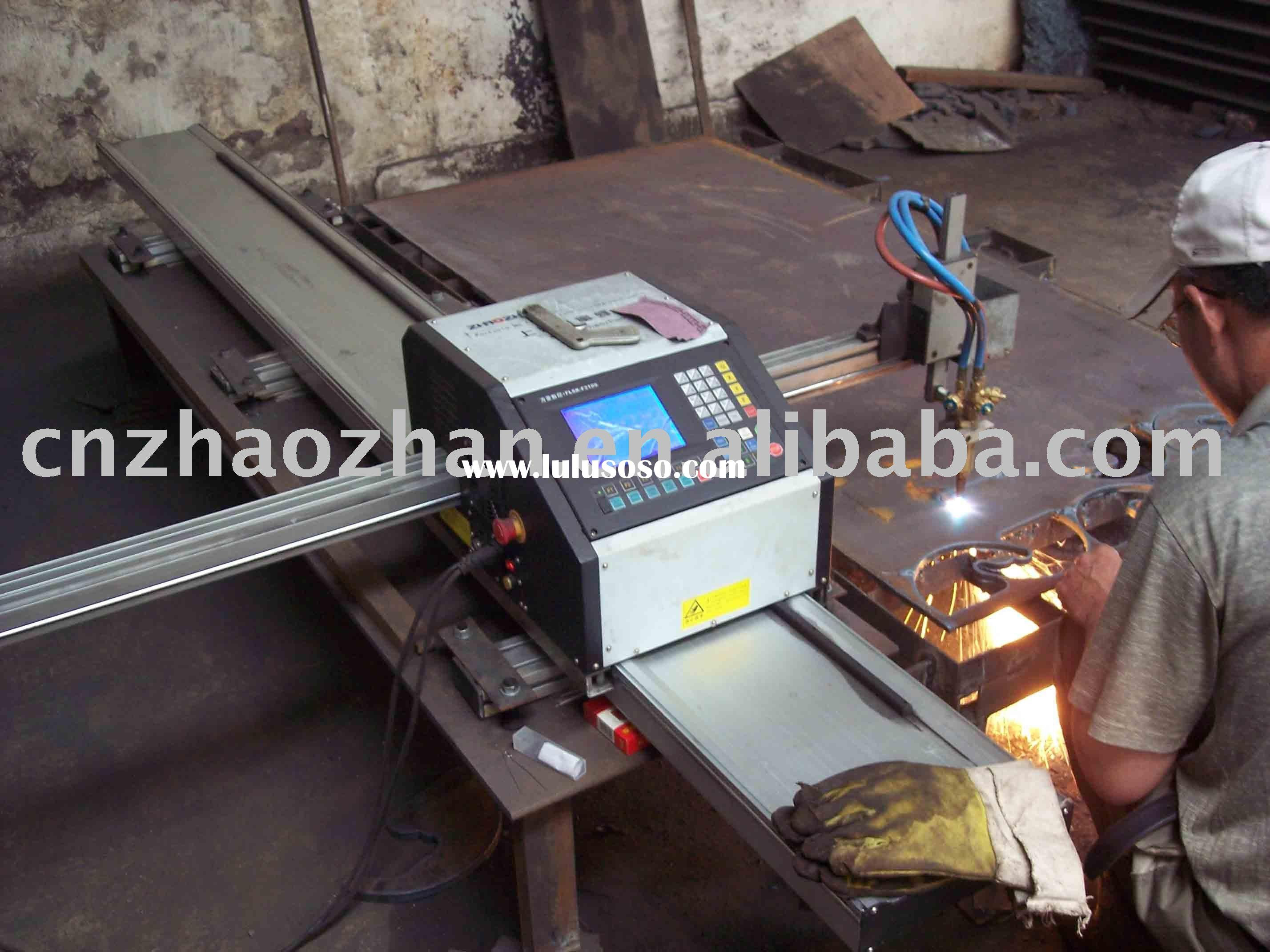 Flame cutting machine, CNC cutting,CAD drawing, easy for operating