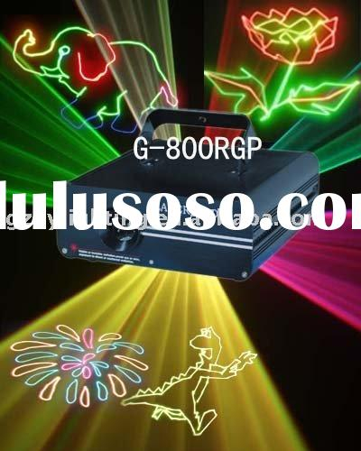 G-800RGP High quality full color animated laser projector