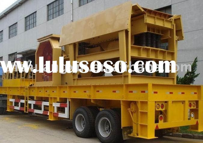 ISO9001/2008 Mobile crusher plant