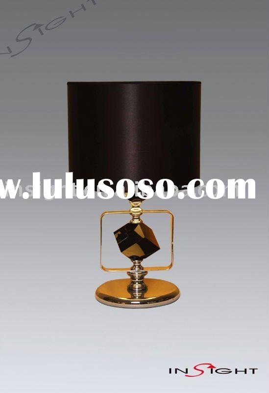 Modern crystal table lamp for hotel,bedroom