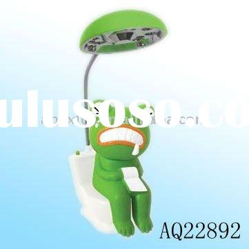 Plastic cordless rechargeable led lamp