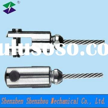 Stainless steel cable anchor