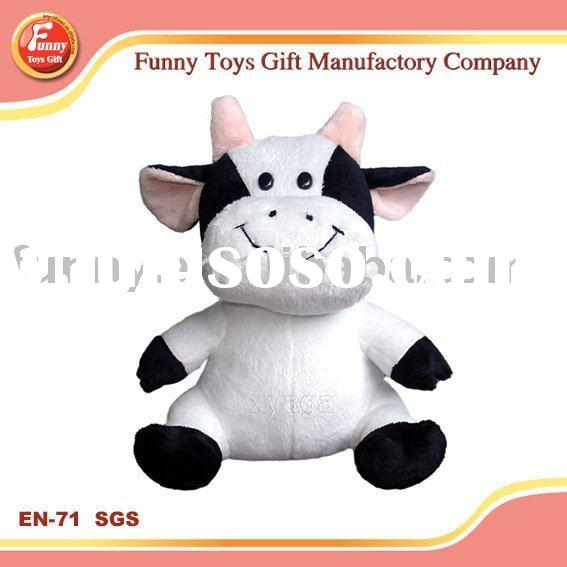 Wholesale most popular& famous Cow  plush toys,stuffed toys,soft toys at competivie price,OEM