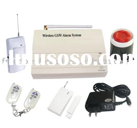 Wireless Intelligent GSM home security Alarm System