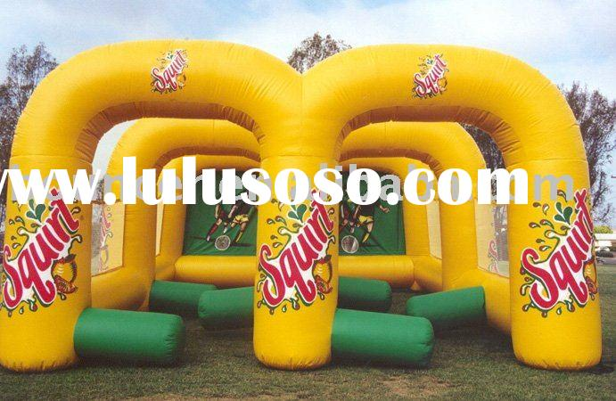 fun inflatable shoot/inflatable sport game/inflatable soccer goal