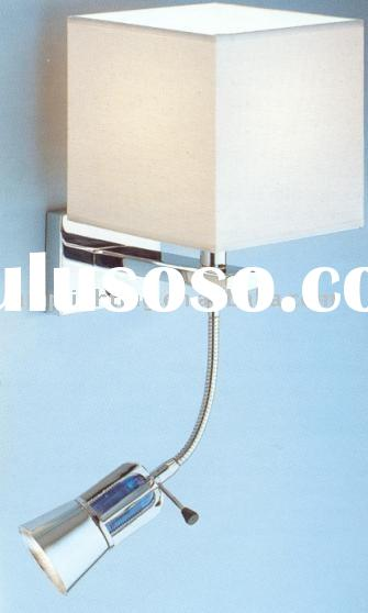 hotel bedside reading wall light with switch _v